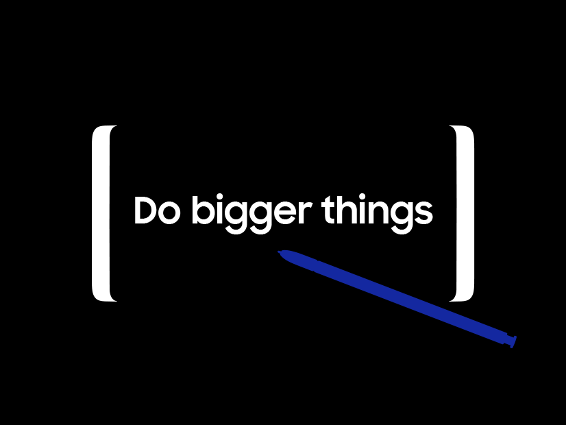 Galaxy Unpacked - Do Bigger things